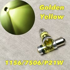 Front Signal Light GOLDEN YELLOW XBD LED 1156 BA15S 7506 P21W for Benz V W Volvo