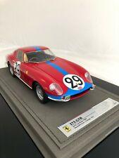 Ferrari 275 GTB 24h # 29 le mans s/n 9015 GT 1:18 - bbr1825 finos como cmc