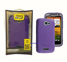 Otterbox Defender Case for HTC One X - Retail Packaging - Grape/Grey