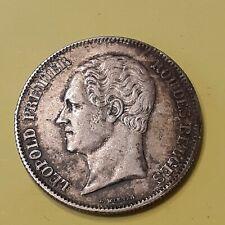 Belgique - België - 2 Francs 1/2 - Léopold 1er Petite tête nue - 1848