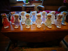 ASHTON DRAKE PRECIOUS MOMENTS BIRTHSTONE ANGEL DOLLS ALL 12 JANUARY - DECEMBER