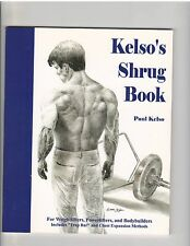 The Kelso Shrug Book by Paul Kelso powerlifting bodybuilder trap bar 2002