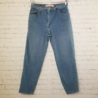 Levis 550 Womens Jeans Size 14 Short Mom High Waist Relaxed Fit Tapered Leg