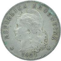 COIN / ARGENTINA / 20 CENTAVOS 1921    #WT16767