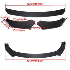 Carbon Look Front Bumper Lip Spoiler Splitters For Infiniti Q50 Q60 Q70 G25 G37