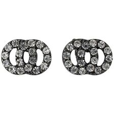 Pilgrim Classic Jewellery for her circles crystals studs earrings + Gift bag