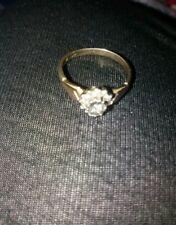 Ladies 9 Carat Gold Engagement ring