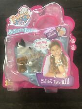 NEW PUPPY IN MY POCKET Jakks Pacific 3 Charm Puppies & Bracelet. Play Along Toys