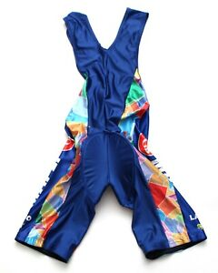 Mapei Vintage Classic Road Bike Bib Shorts Size L-XL Made in Italy