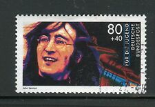 GERMANY 1988 ROCK STARS/JOHN LENNON/BEATLES/MUSIC/SONG/FAMOUS PEOPLE  usata/used