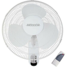 Heller HWF40R White 40cm Wall Fan W/ Remote