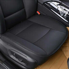 Pu Leather Car Interior Seat Cover Protector Cushion Front Cover Universal Black (Fits: Saab 9-3)