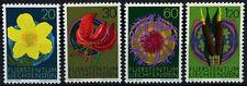Liechtenstein 1972 SG#548-551 FIORI Gomma integra, non linguellato Set #D59377