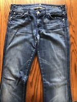 7 For All Mankind Womens A Pocket Jeans Size 27