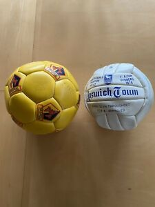 Ipswich Town & Watford Signed Footballs 1978 FA Cup Winners