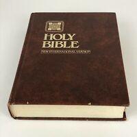 Holy Bible NIV New International Version Zondervan Giant Print Vintage 1984