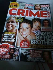 Crime Monthly Magazine Issue 23 February 2021 Rachel Nickell/Backpaper's Death