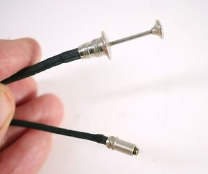 Cable Release w/ straight threads for Realist & other stereo cameras FITS WELL