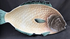 Vintage Shorter  And Son Very Large Fish Platter 50 X 26 Cm