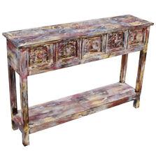 konsolentische aus massivholz ebay. Black Bedroom Furniture Sets. Home Design Ideas