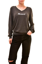 Wildfox Women's Authentic Monday Baggy Sweater Grey Size S RRP £119 BCF83