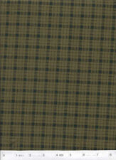 "Heartstrings by Cheri - Green Plaid - 54"" Wide Quilt Fabric - 7/8 Yard Piece"