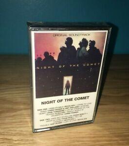 Original Night of the Comet Soundtrack Cassette tape  (1984)  - STILL SEALED