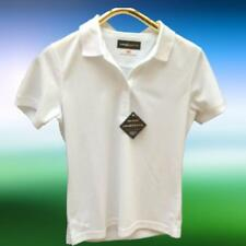 Loudmouth Ladies Golf Polo Shirt Short Sleeve Stark White Wicking Pique NWT Sz M
