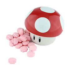 Boston America - Candy Tin - Super Mario MUSHROOM (Red - Cherry) - New Novelty