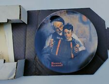 """Norman Rockwell Collector's Plate """"The Music Maker"""" 1981 Limited Edition Coa-Box"""
