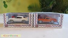1:64 M2 Machines Ground Pounders, 1969 Ford Mustang & 1969 Pontiac GTO