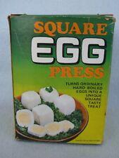 New listingVintage Square Egg Press In Original Box