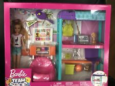 MATTEL Barbie Team Stacie Doll and Bedroom Playset New & Sealed!