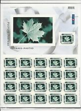CANADA - PICTURE POSTAGE RIBBON FULL SHEET MINT