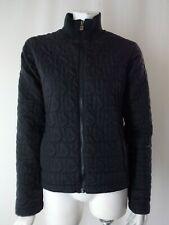 BURTON Black Quilted Logo Lightweight Womens Coat Jacket S