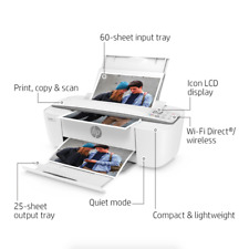 HP DeskJet 3752 Wireless All-in-One Compact Color Inkjet Printer - Instant Ink