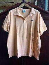 Lacoste Men's Polo Shirt Classic Short Sleeve Solid Orange 8 XX Large 2XL Pique