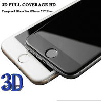 APOODR Full Cover 3D Curved Tempered Glass Screen Protector for iPhone 7/7 Plus