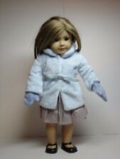 American Girl  Original18'' Doll Outerwear Coat Overcoat /Mittens Outfit Clothes