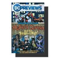 VF DC PREVIEWS DECEMBER 2019 #20 COMIC BOOK BATMAN BATGIRL HARLEY QUINN JOKER+MO