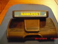1981 Texas Instruments Home Computer Numeration 2 TI-99 TI-99/4A Cartridge