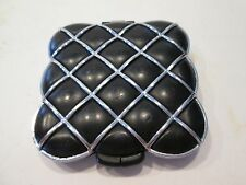 Vintage Speert Black & Silver Pocket Compact Purse Mirror