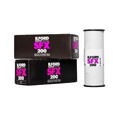 2x Ilford SFX 200 120 Rollo película S/Película Analógica W negro blanca