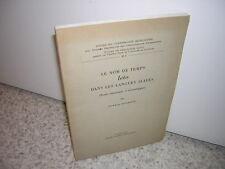 1947.le nom de temps Léto dans les langues slaves / Gunnar Jacobsson