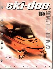 1997 SKI-DOO MX Z X  FACTORY SNOWMOBILE PARTS MANUAL  (950)