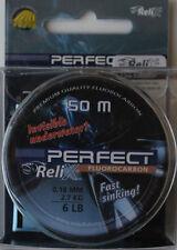 MONOFILO NYLON FLUOROCARBON 100% RELIX PERFECT FLUORO MM 0,18 - BOBINA DA 50 MT