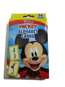 Disney Jr Mickey Mouse Box of ALPHABET CARDS
