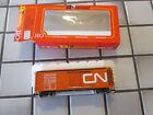 RIVAROSSI CANADIAN NATIONAL BOX CAR HO SCALE ////