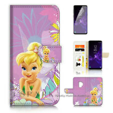 ( For Samsung S9 ) Wallet Case Cover P40414 TinkerBell