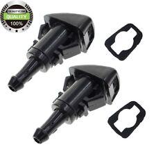 PAIR Windshield Washer Nozzles 15878745 For GM Trailblazer Envoy Spray Pattern